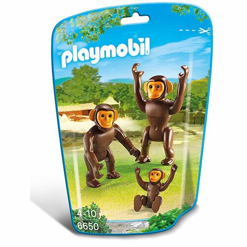 プレイモービル 動物園シリーズ チンパンジーの家族 ごっこ遊び 3歳 4歳 5歳 誕生日プレゼント 誕生日 男の子 男 女の子 女