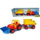 ポリシエ Basics ショベルカー&トレーラー 車のおもちゃ 砂場 おもちゃ 3歳 4歳 5歳 子供 誕生日プレゼント 知育 男の子 男 女の子 女 誕生日 ...
