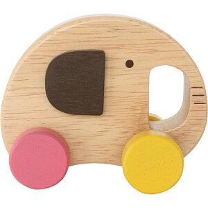 エドインター エレファント カー 車のおもちゃ 木のおもちゃ 赤ちゃん 木製 出産祝い ベビー 誕生日プレゼント 誕生日 男の子 男 女の子 女 0歳 1歳 2歳 ベビー玩具 子供 二歳 一歳 幼児 のり