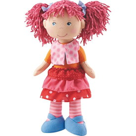 HABA社 ソフト人形・リリー ぬいぐるみ 誕生日プレゼント 人形 ドール 女の子 女 着せ替え 子供 出産祝い 3歳 4歳 5歳 着せ替え人形 お人形 人形あそび ベビー 座れる 赤ちゃん 幼児 キッズ