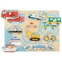 エドインター 木のパズル わくわくのりもの 知育玩具 1歳 2歳 3歳 パズル 幼児 知育 子供 赤ちゃん 出産祝い 誕生日…