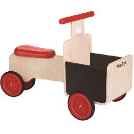 プラントイ デリバリーバイク 乗用玩具 ベビー 木馬 のりもの 乗り物 木のおもちゃ 木製 子供用 出産祝い 1歳 2歳 3歳 誕生日プレゼント 誕生日 男の子 男 女の子 女 幼児 赤ちゃん ギフト 乗用 室内   クリスマス プレゼント クリスマスプレゼント バイク 一歳 車のおもちゃ