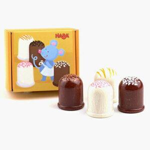 HABA(ハバ社) ミニセット・マシュマロ(4ヶ) ままごと キッチン おままごと ままごとセット 3歳 4歳 5歳 誕生日プレゼント 女の子 木製 子供 木のおもちゃ ドイツ 出産祝い おもちゃ 知育玩