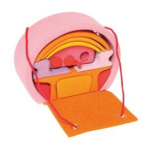 グリムス スマートハウス・ピンク ドールハウス 誕生日プレゼント 木のおもちゃ 木製 子供 ドイツ 女の子 女 出産祝い 3歳 4歳 5歳 幼児 キッズ おままごと 知育玩具 ままごとセット   ままご