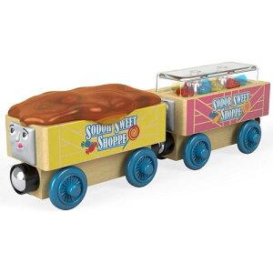 きかんしゃトーマス 木製 レール キャンディーカー 木のおもちゃ 電車 トーマスレール 子供 誕生日プレゼント 誕生日 男の子 男 3歳 4歳 5歳 列車 汽車 機関車トーマス 乗り物 幼児 玩具 オモ