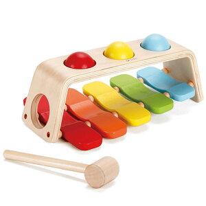 クラシックワールド 2イン1 パウンド アンド タップベンチ 木のおもちゃ 赤ちゃん 木製 出産祝い ベビー 誕生日プレゼント 男の子 男 女の子 女 1歳 2歳 知育玩具 ハンマー オモチャ ベビー
