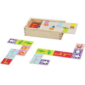 クラシックワールド ミックス アンド マッチ アニマル カードゲーム ドミノゲーム 知育玩具 3歳 4歳 誕生日プレゼント 知育 男の子 女の子 子供 幼児 ギフト オモチャ 幼稚園 保育園 | ゲーム