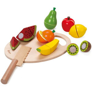 クラシックワールド カッティング フルーツ 2歳 3歳 4歳 5歳 誕生日プレゼント 女の子 女 木のおもちゃ 木製 子供 出産祝い ままごとセット 食材 包丁 幼児 知育玩具 おしゃれ プレゼント おま