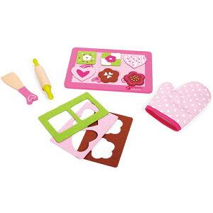 クラシックワールド クッキー ベイキング セット 2歳 3歳 4歳 5歳 誕生日プレゼント 女の子 女 木のおもちゃ 木製 子供 出産祝い ままごとセット 食材 包丁 幼児 知育玩具 おしゃれ プレゼント