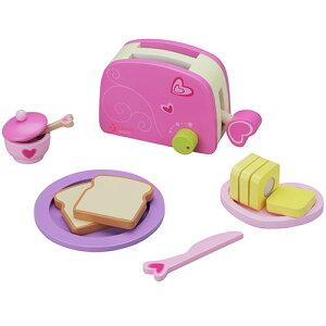 クラシックワールド トースター セット 2歳 3歳 4歳 5歳 誕生日プレゼント 女の子 女 木のおもちゃ 木製 子供 出産祝い ままごとセット 食材 包丁 幼児 知育玩具 プレゼント おままごとセット|