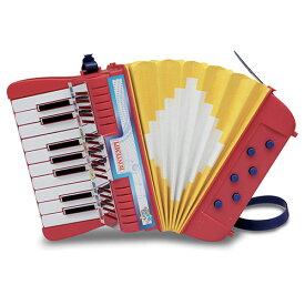 BONTEMPI 17鍵 アコーディオン 知育玩具 楽器玩具 誕生日 誕生日プレゼント 3歳 4歳 5歳 音楽 男の子 男 女の子 女 子供 おもちゃ 幼児 おしゃれ 音の出るおもちゃ|プレゼント 楽器のおもちゃ 玩具 ギフト 三歳 四歳 五歳 入園祝い 楽器 オモチャ 子どもおもちゃ こども