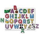 メリッサ&ダグ ペグパズル アルファベット 知育玩具 2歳 3歳 4歳 パズル 幼児 英語 アルファベット 知育 木のおも…