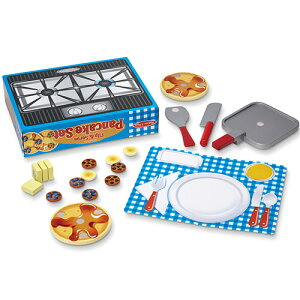 メリッサ&ダグ パンケーキ セット おままごと キッチン ままごと ごっこ遊び 3歳 4歳 5歳 誕生日プレゼント 女の子 女 料理 子供 出産祝い ままごとセット 食材 幼児 知育玩具 おしゃれ プレ
