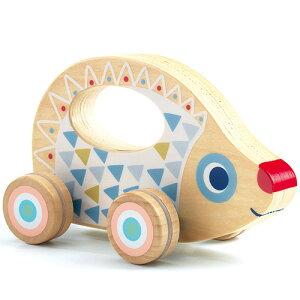 DJECO ベビー ローリー 車のおもちゃ 木のおもちゃ 赤ちゃん 木製 出産祝い 誕生日プレゼント 誕生日 男の子 男 女の子 女 1歳 2歳 子供 誕生日祝い おしゃれ 幼児 乗り物   おもちゃ 一歳 こど