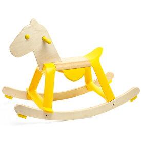 DJECO イエロー ロック イット 乗用玩具 ベビー 木馬 乗り物 木のおもちゃ 木製 足けり 子供 出産祝い 1歳 2歳 3歳 誕生日プレゼント 誕生日 男の子 男 女の子 女 幼児 赤ちゃん 二歳 室内 おもちゃ 足蹴り乗用玩具
