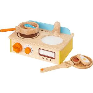 エド・インター ジュージューくるりん!キッチン おままごと キッチン ままごと ごっこ遊び 3歳 4歳 5歳 誕生日プレゼント 女の子 女 木のおもちゃ 木製 子供 出産祝い ままごとセット 幼児