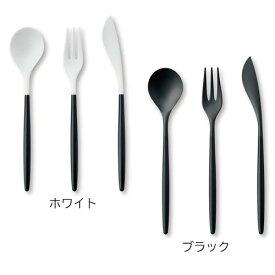 ZIKICO SUMU デザート 3ピースセット(スプーン、フォーク、ナイフ) カトラリー おしゃれ 日本製 大人 ジルコニア 金属アレルギー 高級 ギフト ケース入り