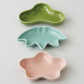 波佐見焼 晴 豆皿 3枚セット(松竹梅) 小皿 お皿 セット 磁器 国産 日本製 食器 瀬戸物 陶器 焼き物 おしゃれ ギフト プレゼント お祝い
