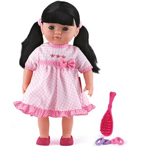 ピーターキン ドール・黒髪 ぬいぐるみ 誕生日プレゼント 人形 ドール 女の子 女 着せ替え 子供 出産祝い 3歳 4歳 5歳 着せ替え人形 お人形 人形あそび ベビー 座れる 赤ちゃん 幼児 キッズ