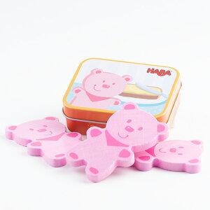 HABA ハバ ミニセット・ベアソーセージ ままごと キッチン おままごと ままごとセット 3歳 4歳 5歳 誕生日プレゼント 女の子 木製 子供 木のおもちゃ ドイツ 出産祝い おもちゃ 知育玩具 オモ