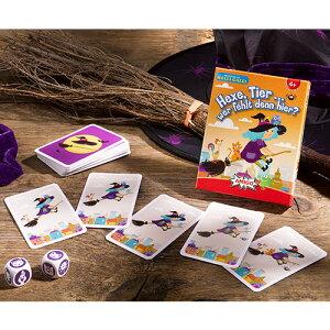 アミーゴ 魔女の動物探し カードゲーム 知育玩具 誕生日 誕生日プレゼント 4歳 5歳 6歳 子供 男の子 男 女の子 女 知育 テーブルゲーム おもちゃ プレゼント ゲーム ドイツ 海外 卓上ゲーム ボ