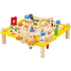 アイムトイ カーペンターテーブル 大工 工具 おもちゃ 知育玩具 大工さん 木のおもちゃ 木製 子供 誕生日プレゼント 誕生日 男の子 男 女の子 女 3歳 4歳 5歳 ギフト かわいい キッズ 木 工具セット|子どもおもちゃ 知育 オモチャ 玩具 セット 大工遊び 幼児 木製玩具 こども
