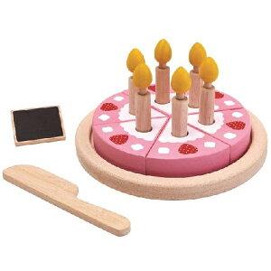 プラントイ バースデーケーキセット ままごと キッチン 誕生日 誕生日プレゼント 木のおもちゃ 木製 おままごと キッチン ままごとセット 子供 女の子 女 出産祝い 3歳 4歳 5歳 おしゃれ