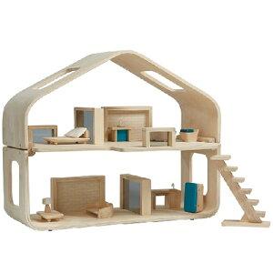 プラントイ コンテンポラリー ドールハウス(家具付き) ドールハウス 誕生日 誕生日プレゼント 木のおもちゃ 木製 子供 女の子 女 出産祝い 3歳 4歳 5歳 おもちゃ 知育玩具 家具 ドールハ