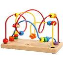 知育玩具 1歳 2歳 プレイミートイズ社 ダンシングループ 木のおもちゃ ビーズコースター 赤ちゃん 子供 木製 知育 出…