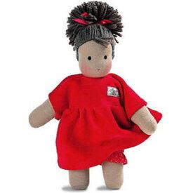 送料無料 抱き人形 おもちゃ シルケ シルケ人形 ロッテちゃん・赤 子供 ドイツ 誕生日プレゼント 誕生日 女の子 女 出産祝い 2歳 3歳 4歳 | キッズ 二歳 ギフト 人形あそび お人形 クリスマスプレゼント クリスマス