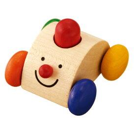 車のおもちゃ セレクタ社 クラクションカー 木のおもちゃ 赤ちゃん 木製 出産祝い ベビー ドイツ 誕生日プレゼント 誕生日 男の子 男 女の子 女 1歳 2歳 |ベビー玩具 バースデー 子供 二歳 一歳 幼児 のりもの 乗り物 くるま プッシュトイ プッシュ トイ おもちゃ