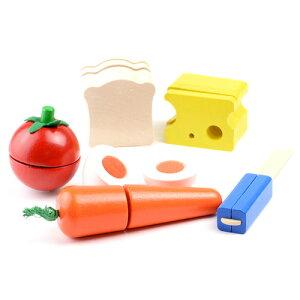 ままごと キッチン おままごと ままごとセット 3歳 4歳 5歳 誕生日プレゼント 女の子 セレクタ社 カッティング モーニングセット 木製 子供 木のおもちゃ ドイツ 出産祝い|おしゃれ おもちゃ