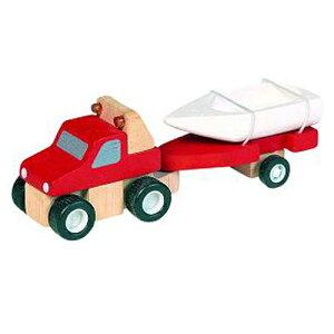 木製 レール PLANTOYS プラントイ 4WDとボート 木のおもちゃ 電車 レールおもちゃ 子供 誕生日プレゼント 誕生日 男の子 男 出産祝い 3歳 4歳 5歳 女の子 プレゼント 乗り物 玩具 オモチャ 幼児 室