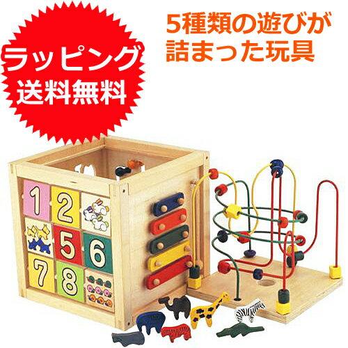 エドインター 森のあそび箱 1歳 2歳 3歳 おもちゃ 赤ちゃん オモチャ 女の子 子供 木のおもちゃ 木製 ベビー 男の子 知育玩具 誕生日プレゼント 出産祝い 木琴 パズル 幼児 エド・インター | 一歳 二歳 誕生日 ルーピング ビーズコースター 楽器 型はめパズル 迷路 型はめ
