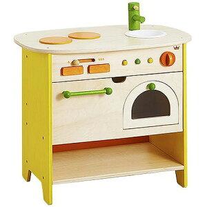 送料無料 ままごと キッチン おままごと ままごとセット 3歳 4歳 5歳 誕生日プレゼント 女の子 エドインター 森のアイランドキッチン 木のおもちゃ 子供 出産祝い | 赤ちゃん 木製 知育玩具
