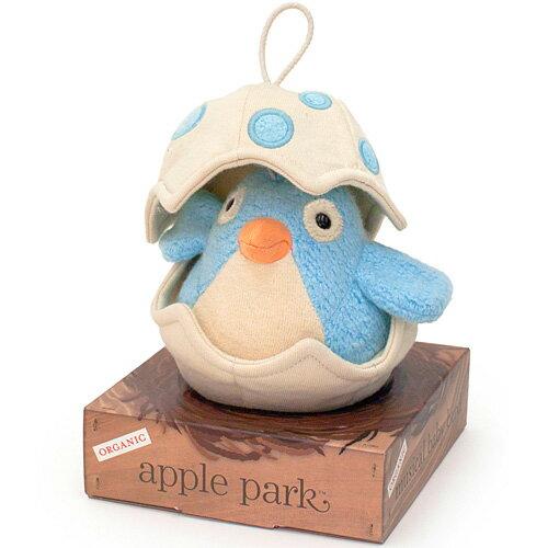 オルゴール アップルパーク ミュージカルバード ブルー 赤ちゃん 出産祝い ベビー 誕生日プレゼント 誕生日 男の子 男 女の子 女 0歳 1歳
