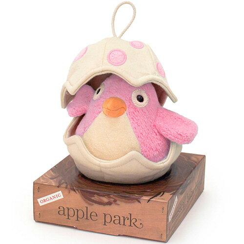 オルゴール アップルパーク ミュージカルバード ピンク 赤ちゃん 出産祝い ベビー 誕生日プレゼント 誕生日 男の子 男 女の子 女 0歳 1歳