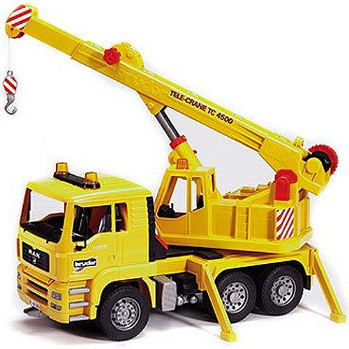 送料無料 車のおもちゃ 砂場 おもちゃ ダンプカー ブルーダー社 プロシリーズ MAN クレーントラック 子供 ドイツ 誕生日プレゼント 誕生日 男の子 男 女の子 女 3歳 4歳 5歳