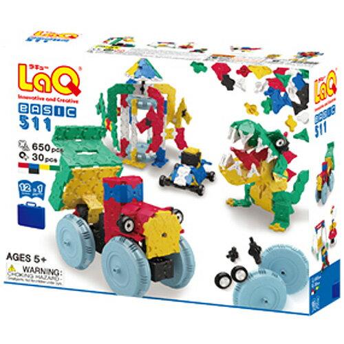 送料無料 LaQ ラキュー ベーシック 511 5歳 6歳 おもちゃ ギフト 誕生日プレゼント 子供 キッズ 男の子 男 女の子 女 子ども 知育玩具 誕生日 知的玩具 オモチャ おもちゃ   プラモデル 組み立てる らきゅー 小学生 子ども玩具 こども 入園 入学 知育 6才