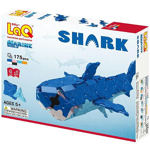 LaQ ラキュー マリンワールド シャーク ブロック おもちゃ 子供 誕生日プレゼント 誕生日 男の子 男 女の子 女 | プラモデル 組み立てる らきゅー オモチャ 5歳 6歳 小学生 キッズ 知育玩具 こども 子ども プラモデル さめ サメ 鮫 子ども玩具