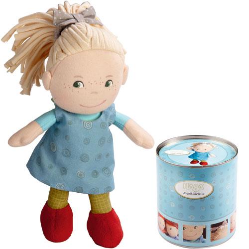 ぬいぐるみ 誕生日 誕生日プレゼント 人形 ドール 女の子 女 HABA ハバ社 缶入りドール・おすましミレ 着せ替え 子供 出産祝い 3歳 4歳 5歳 |玩具 ベビー 誕生日祝い 出産お祝い 赤ちゃん 二人目 ギフト 布のおもちゃ 幼児 赤ちゃん 癒し 着せ替え人形 お人形