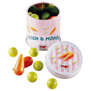 ままごと キッチン 誕生日プレゼント 食材 HABA ハバ社 ミニセット 豆とにんじん 出産祝い 木のおもちゃ 木製 おままごと キッチン セット ままごとセット 女の子 女 3歳 4歳 5歳 おしゃれ 知育