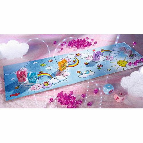 ボードゲーム 知育玩具 誕生日プレゼント HABA ハバ社 雲の上のユニコーン 3歳 4歳 5歳 子供 男の子 男 女の子 女 ドイツ|おもちゃ 子ども キッズ 幼児 すごろく ボード ゲーム 誕生日祝い バースデー ニコリ 出産祝い おしゃれ ギフト お誕生日プレゼント