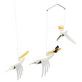 北欧 雑貨 インテリア モビール 鳥 リビングリー ペリカン 誕生日 誕生日プレゼント お祝い ギフト