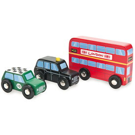 インディゴジャム ブリティッシュカー 3個セット 車のおもちゃ 木のおもちゃ 3歳 4歳 5歳 子供 誕生日プレゼント 知育 男の子 男 誕生日 キッズ 子ども ギフト 車 知育玩具 車のおもちゃ 知的玩具 出産祝い | 乗り物 おもちゃ 木製 幼児 海外 輸入 室内 オモチャ くるま