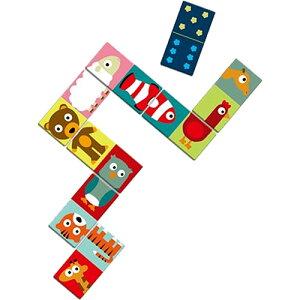DJECO ドミノ アニモ カードゲーム 子供 おもちゃ 誕生日プレゼント 男の子 女の子 3歳 4歳 5歳 子ども こども 幼児 バースデー ギフト オモチャ テーブルゲーム カード ゲーム 遊び あそび | 出
