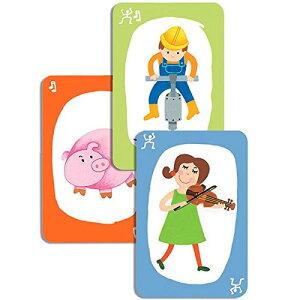 DJECO プエット!プエット! カードゲーム 子供 おもちゃ 誕生日プレゼント 男の子 女の子 5歳 6歳 小学生 子ども こども 幼児 ギフト オモチャ テーブルゲーム カード ゲーム 遊び   卓上ゲー