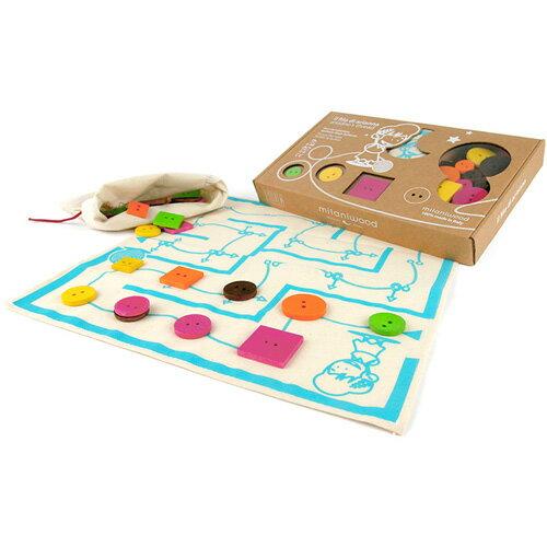 ミラニウッド社 アリアンナの糸 ボードゲーム 知育玩具 木のおもちゃ 誕生日 誕生日プレゼント 6歳 小学生 子供 男の子 男 女の子 女 知育おもちゃ キッズ 知育 かわいい 幼児