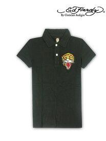 【送料無料】メンズ/紳士★EdHardy(エドハーディー)メンズポロシャツ・アウトレット/3048-bk/3011-bk☆大きいサイズ3L XXL