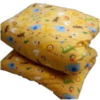 お昼寝布団黄色どうぶつ柄
